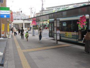 久米川駅バス乗り場